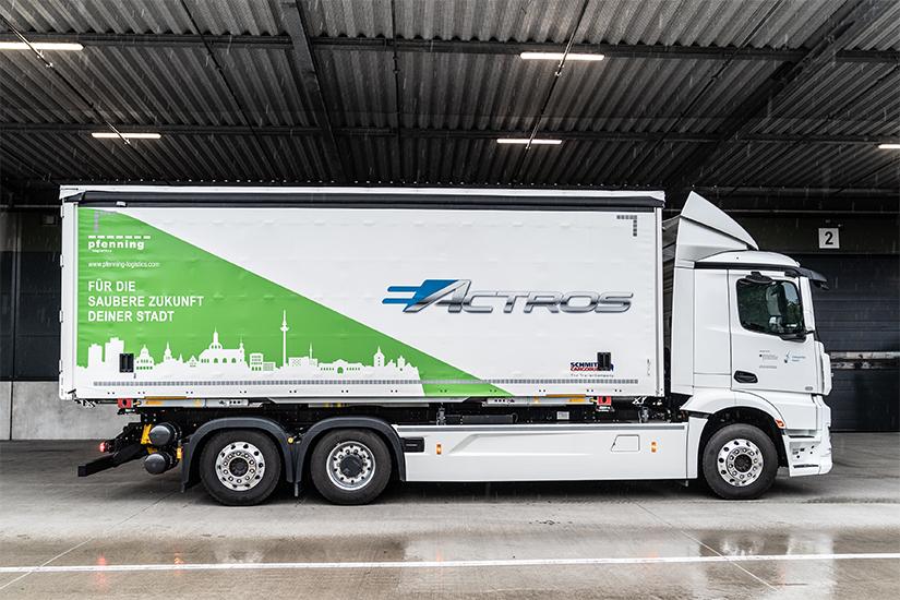 EBERT eActros pfenning logistics