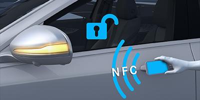 EBERT Mercedes EQC digitaler Fahrzeugschlüssel