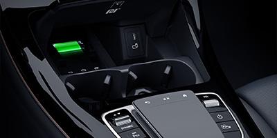 EBERT Mercedes EQC kabelloses laden