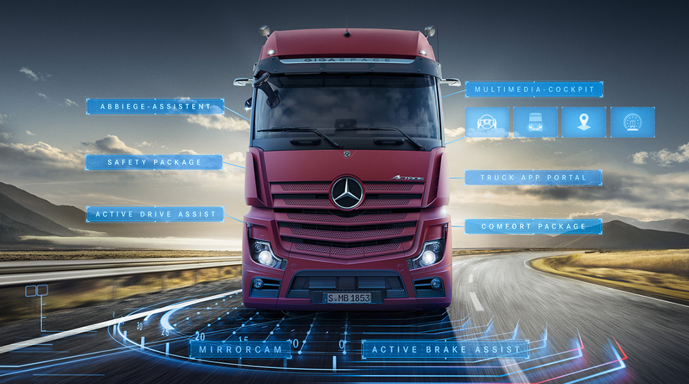 EBERT Mercedes-Benz ACTROS Trucks