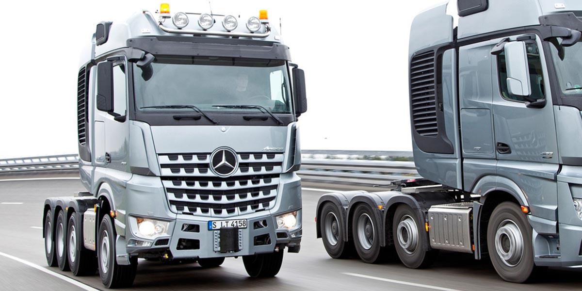 EBERT Mercedes-Benz Trucks Arocs Schwerlasttransport SLT