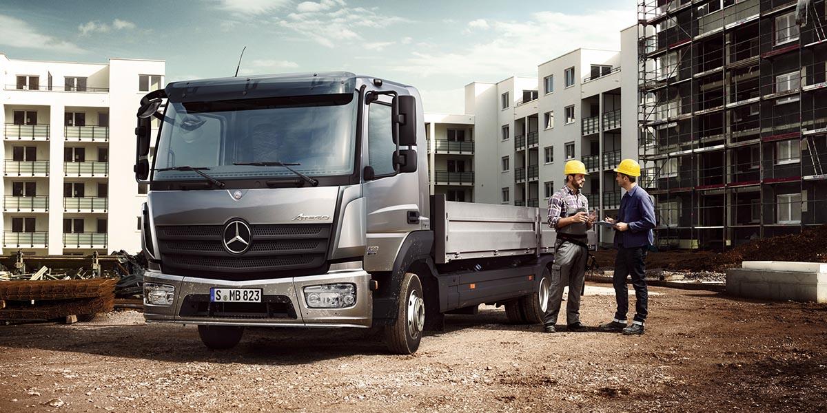 EBERT Mercedes-Benz Trucks Atego Bauverkehr