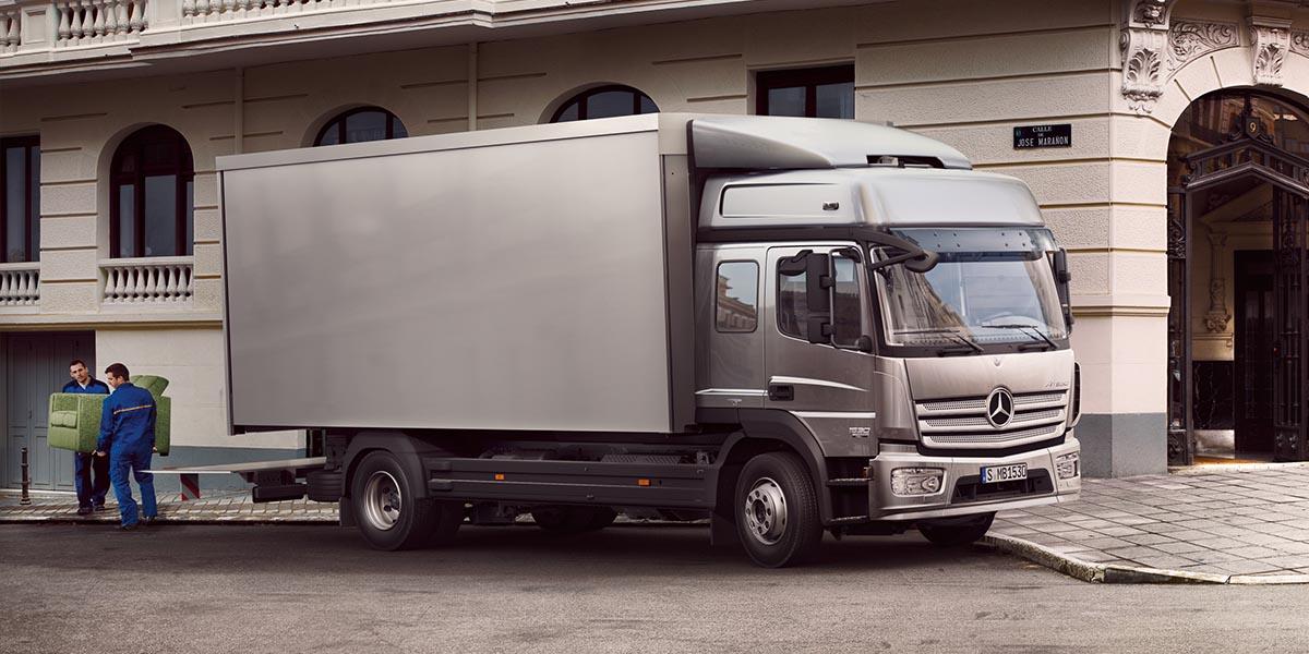 EBERT Mercedes-Benz Trucks Atego Verteilerverkehr Grosskunden