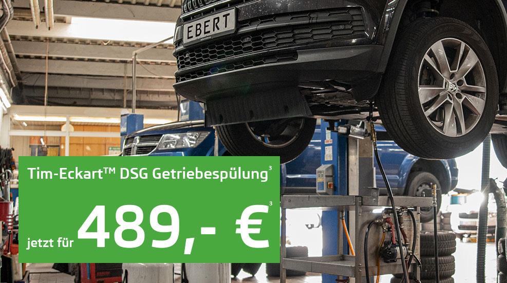 EBERT DSG Getriebespülung Header