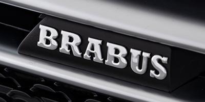 BRABUS Schriftzug Fahrzeugseite