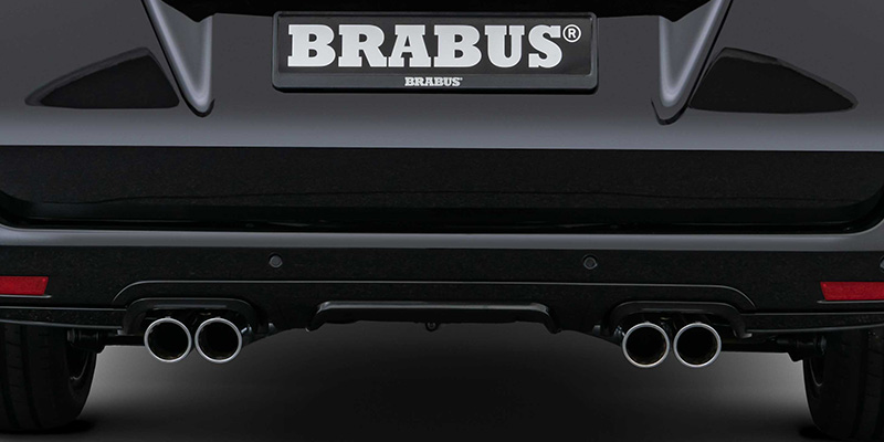 EBERT BRABUS Sportauspuff Facelift
