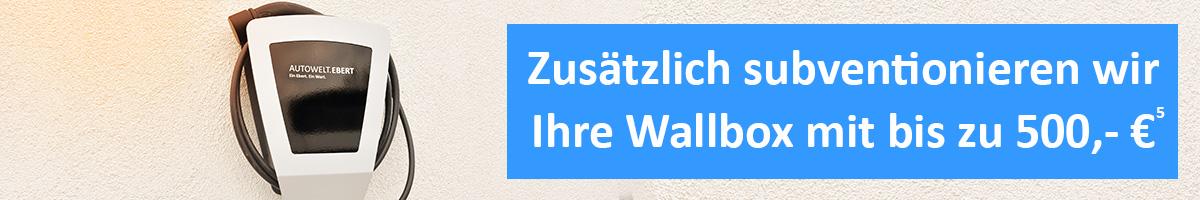 EBERT Wallbox Subvention