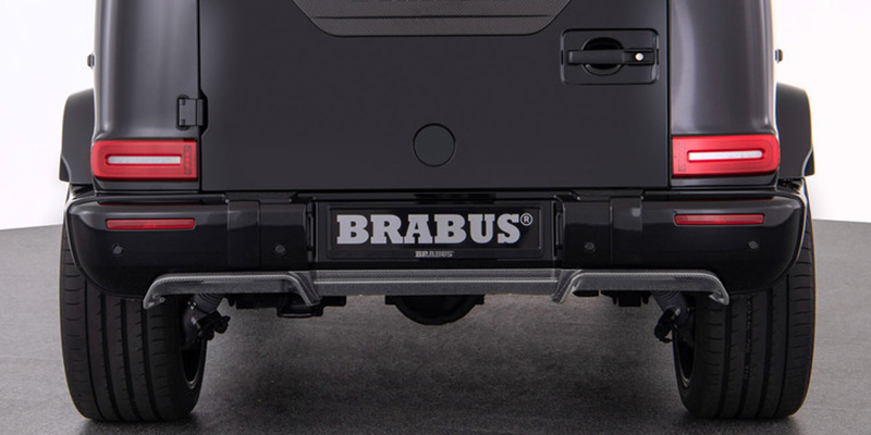 EBERT BRABUS Heckdiffusor Carbon